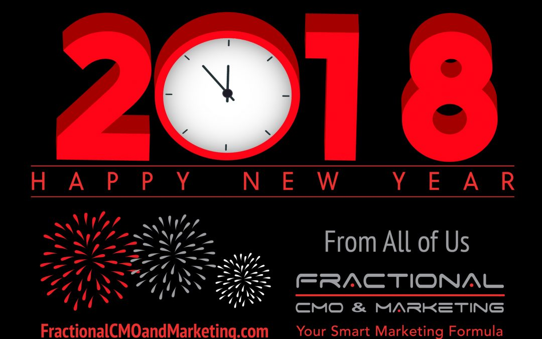 Fractional CMO & Marketing Newsletter – December 2017
