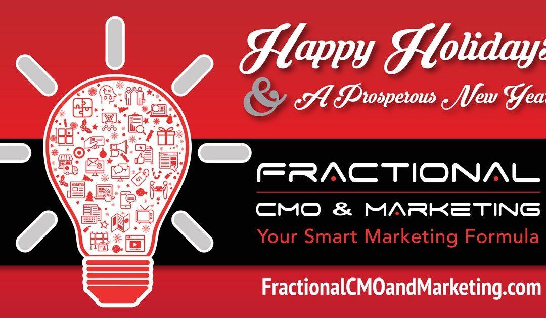 Fractional CMO & Marketing – December 2018